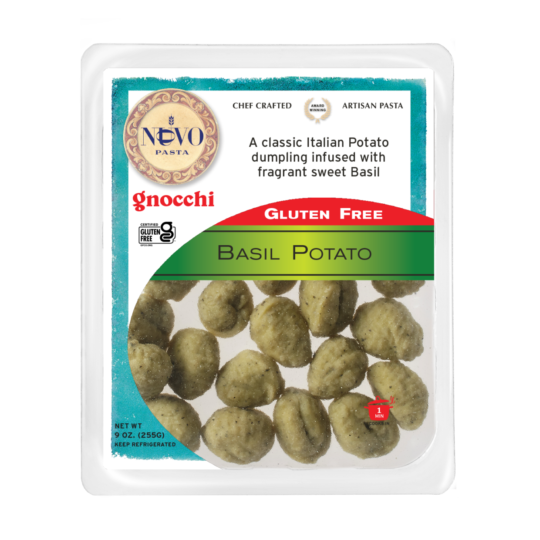 Basil Potato Gnocchi