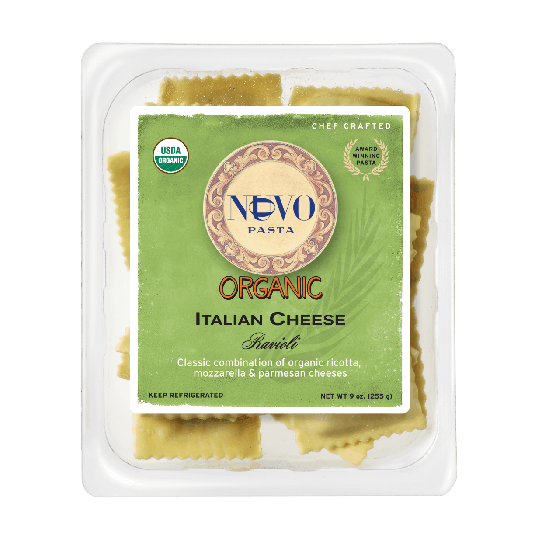 Organic Italian Cheese Ravioli
