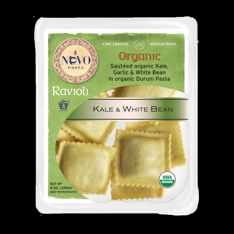 Organic Kale & White Bean Ravioli
