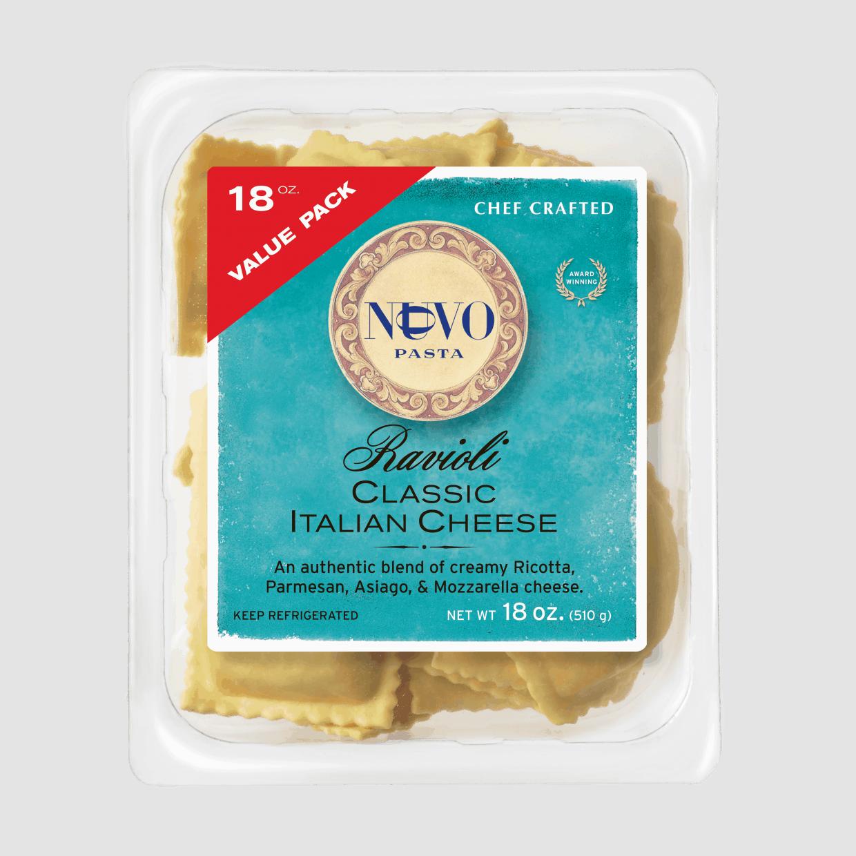 Classic Italian Cheese Ravioli