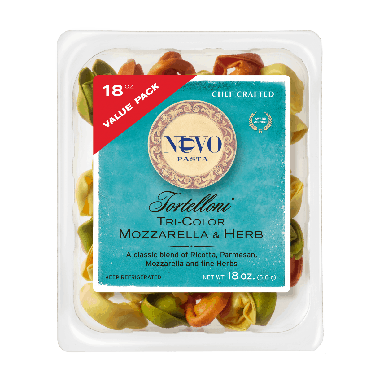 Tri-Color Mozzarella & Herb Tortelloni