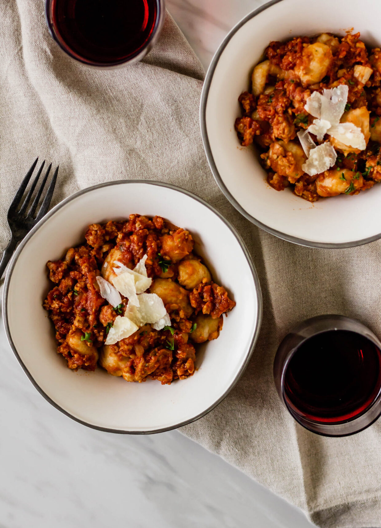 Gnocchi with Spicy Pork Ragù