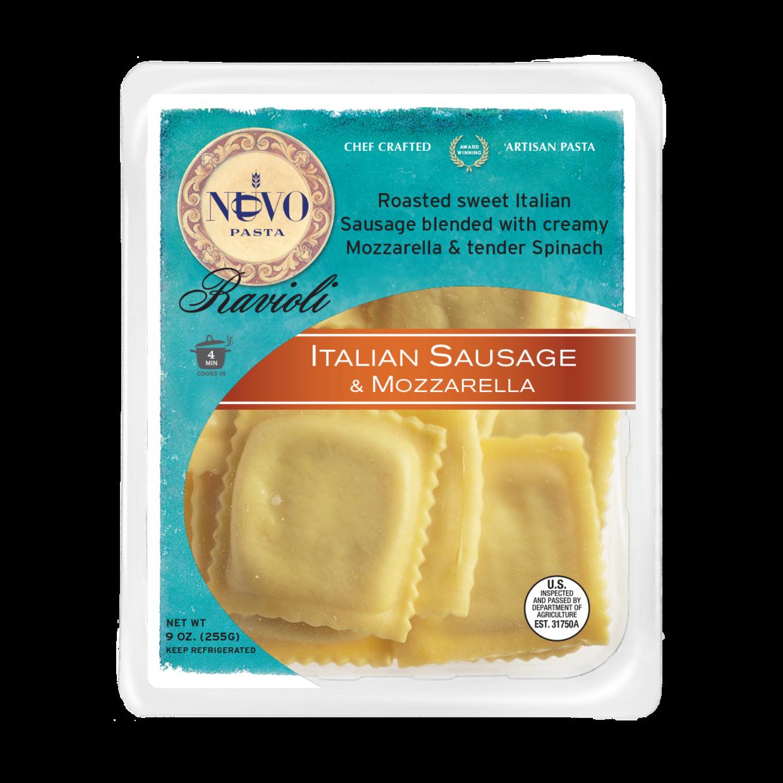 Italian Sausage & Mozzarella Ravioli